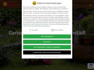 Vorschaubild der Webseite von Gartenservice