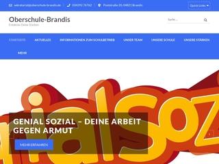 Vorschaubild der Webseite von Oberschule Brandis