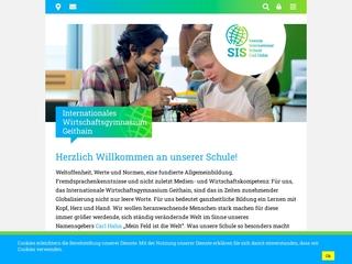 Vorschaubild der Webseite von Internationales Wirtschaftsgymnasium Geithain