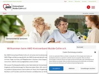 Vorschaubild der Webseite von AWO Pflege- und Betreuungs gGmbH - Sozialstation Brandis