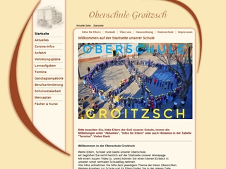 Vorschaubild der Webseite von Oberschule Groitzsch