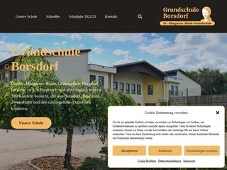Vorschaubild der Webseite von Grundschule Borsdorf