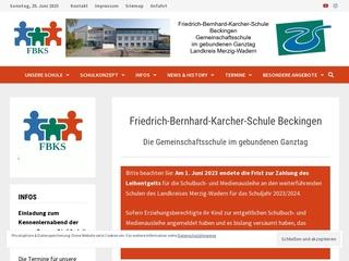Vorschaubild der Webseite von Friedrich-Bernhard-Karcher-Schule