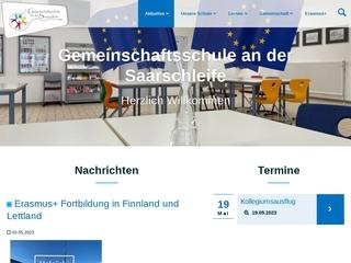 Vorschaubild der Webseite von Gesamt- und Gemeinschaftsschule  Mettlach-Orscholz