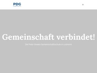 Vorschaubild der Webseite von Peter-Dewes-Gesamtschule Losheim am See