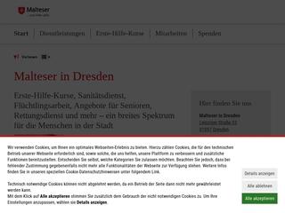 Vorschaubild der Webseite von Malteser Fahrdienst