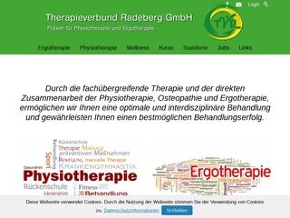 Vorschaubild der Webseite Therapieverbund Radeberg - Zentrum für Ergotherapie