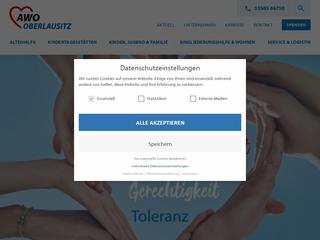 Vorschaubild der Webseite von Wohnstätten für behinderte Menschen - Wohnheim I