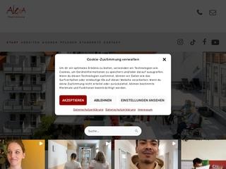 Vorschaubild der Webseite von Seniorenstift