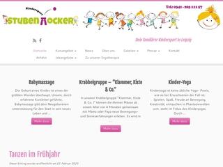 Vorschaubild der Webseite von Kindersport Stubenhocker