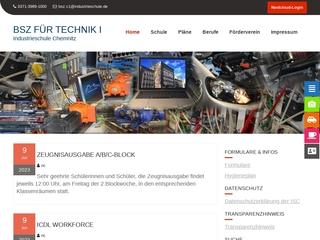 Vorschaubild der Webseite von Berufliches Schulzentrum für Technik