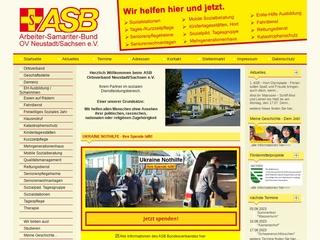 Vorschaubild der Webseite von ASB Mehrgenerationenhaus