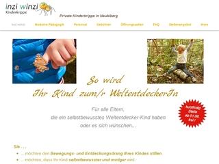 Vorschaubild der Webseite von Kinderkrippe inzi winzi