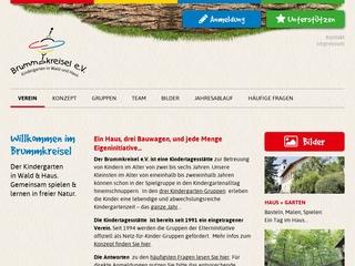 Vorschaubild der Webseite von Brummkreisel � Kindergarten in Wald und Haus
