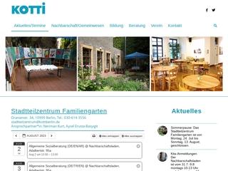 Vorschaubild der Webseite von Kindertagesstätte des Kotti e.V.