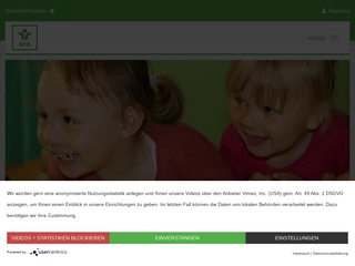 Vorschaubild der Webseite von Kindertagesstätte Legefeld