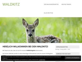 Vorschaubild der Webseite von Waldkindergarten