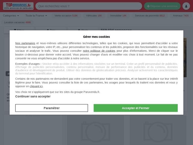 Petites annonces gratuites, ann.. - Topannonces.fr