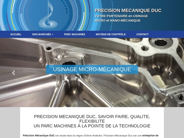 Précision Mécanique Duc sa - (07) -Micro-Nano Mécanique