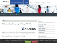Abacus, People Counting Made Easy - monitoring footfall & traffic
