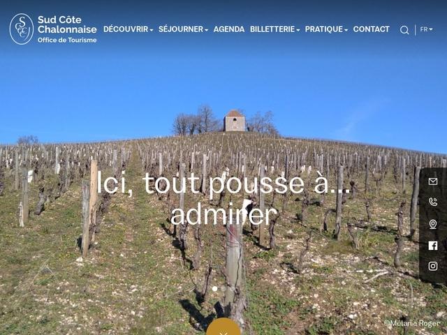 Office de Tourisme Sud Côte Chalonnaise