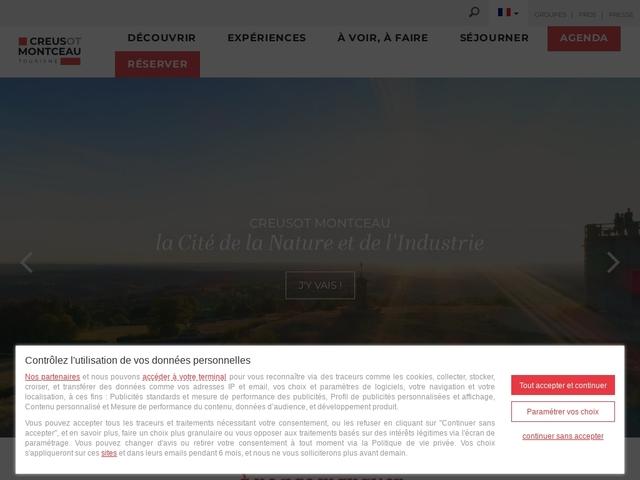 Office de tourisme Creusot Montceau
