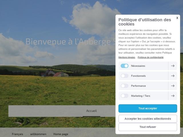L'auberge la Chaume de Schmargult Gérardmer Vosges