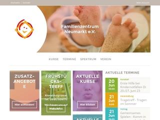 Vorschaubild der Webseite von Familienzentrum Neumarkt. e.V.