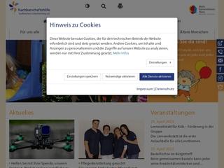 Vorschaubild der Webseite von MGH Mütterzentrum Nachbarschaftshilfe Taufkirchen