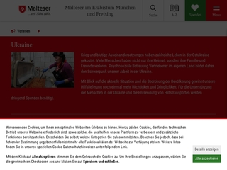 Vorschaubild der Webseite von Betreutes Wohnen der Malteser