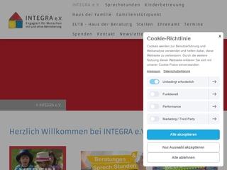 Vorschaubild der Webseite Kindergarten Tranquilla Trampeltreu des Integra e.V.