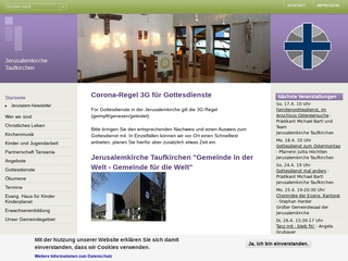 Vorschaubild der Webseite Ev. Kindergarten Kinderplanet