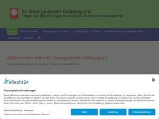 Vorschaubild der Webseite Kath. Kindergarten St. Georg I