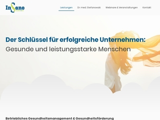 Vorschaubild der Webseite Fit trotz Stress