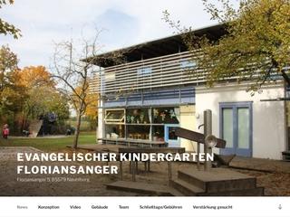 Vorschaubild der Webseite Evangelischer Kindergarten