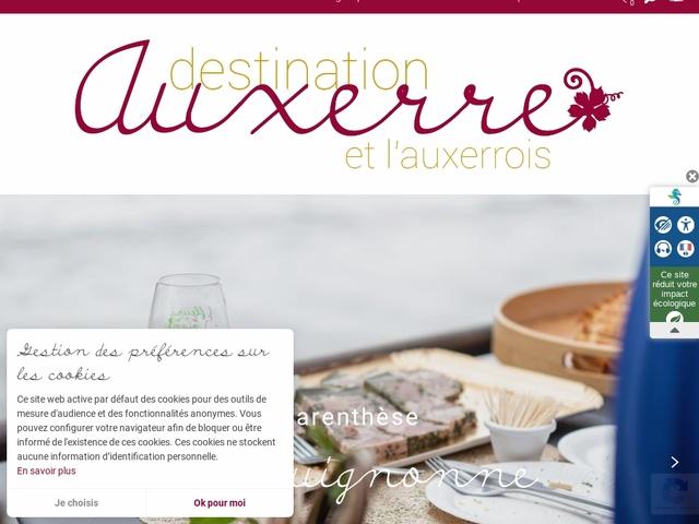 Office de tourisme d'Auxerre et de l'Auxerrois