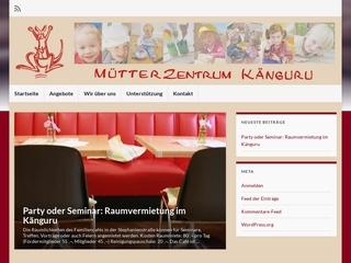 Vorschaubild der Webseite von Mütterzentrum Känguru e.V.