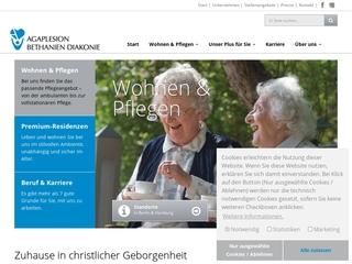 Vorschaubild der Webseite von Agaplesion Bethanien Sophienhaus
