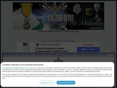 forum insignes et médailles