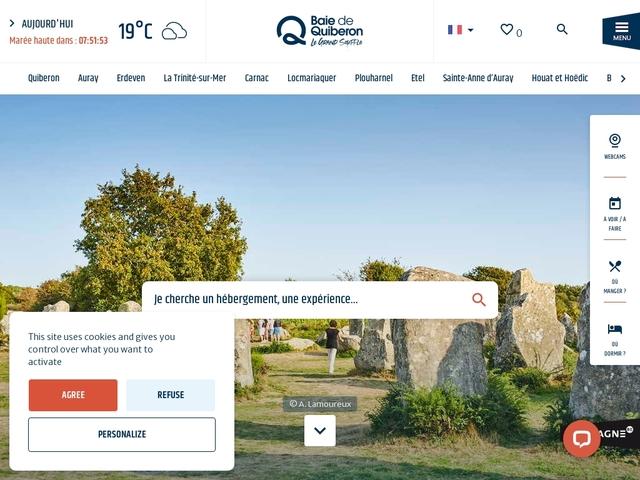 Office de tourisme de la Baie de Quiberon