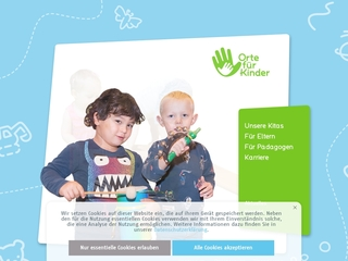 Vorschaubild der Webseite von Kindertagesstätte Fantasia