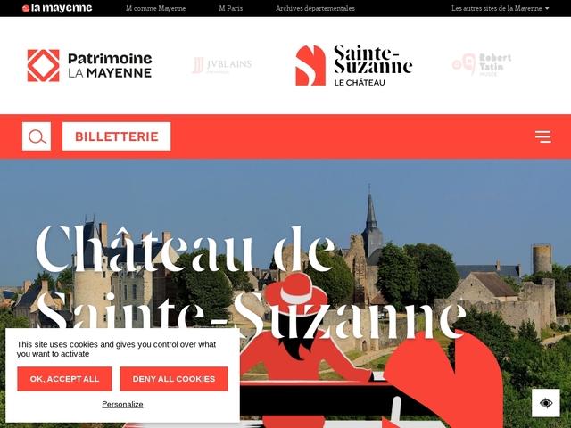 Château de Sainte-Suzanne