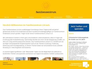 Vorschaubild der Webseite von Familienzentrum Lörrach
