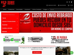 Ropa Deportiva - Red Zone Football
