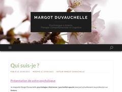 Psychologue Margot Duvauchelle