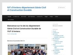 IUT Génie Civil d'Amiens