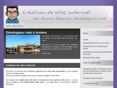 Erwan Regnier : développeur web