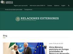 Gobierno - Secretaría de Relaciones Exteriores