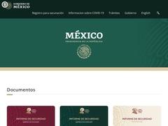 Gobierno - Presidencia de la República México