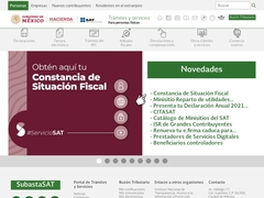 Gobierno - Servicio de Administración Tributaria SAT